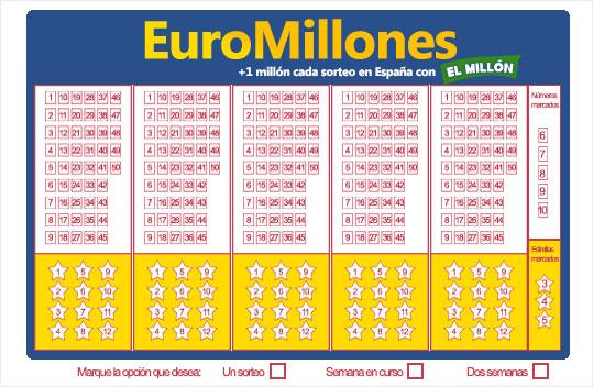 Cómo se juega al Euromillones